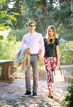 #dresscolorfully @galmeetsglam on his and hers style