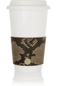 Jimmy Choo Coffee Cup Sleeve - $165.....smdh.