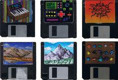 diskette art