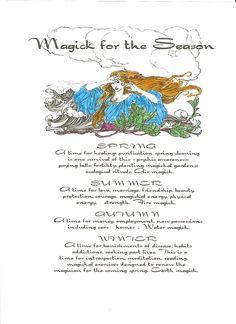 Magick for the Seasons