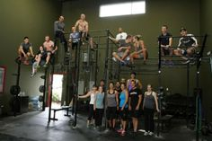 The couple that works out together stays together - especially with the support of their Cross Fit Family