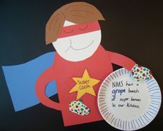 School Lunch Superhero Day is May 8   School Nutrition Employee Week is May 6-10  FUN with FOOD PUNS!