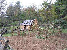 Early Settler Farming | Early Settler's Cabin