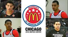 Class of 2014 Freshman, all four are McDonald's All-Americans #BBN