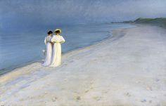 Skagen Denmark by Peder Severin Krøyer...Love this!! I have a print copy in my living room