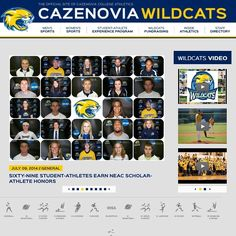 Cazenovia College is proud to announce the launching of it's new athletics website powered by SIDEARM Sports! New features include: enhanced bio pages, fan zone, photo galleries, career stats and MORE! #caznation #cazwildcats #sidearmsports