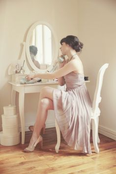 Vanity tables. <3
