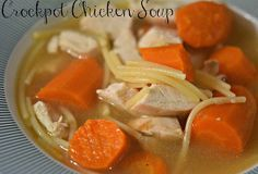 This Rotisserie Chicken Noodle Soup is to die for! It's great to add to your list of quick and easy potluck recipes, or as a simple go-to homemade slow cooker chicken noodle soup.