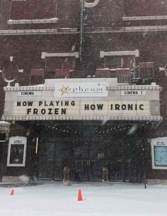 Another image of the theater was posted on Tuesday and quickly began to go viral on Tumblr .
