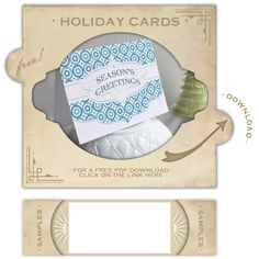 Christmas Card printables