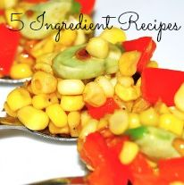 Check out this list of countless 5 ingredient or less recipes!