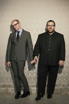 Simon Pegg | Nick Frost these two crack me up!!