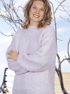 Looking for a beginner-level, sweater knitting pattern? You just found it! This design is quick-to-knit and includes a separate cowl for you to wear as you please! Ladies Size: small through extra-large.Skill Level: Beginner