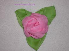 Цветы из ткани.Роза.. Комментарии : LiveInternet - Российский Сервис Онлайн-Дневников