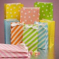 Pretty paper bags @Amanda Harris Mart
