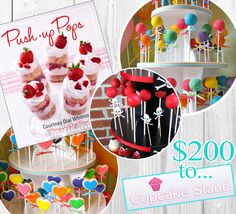 {Giveaway} Autographed Push-Up Pops Book