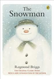 the snowman book; one of my favorite childhood books