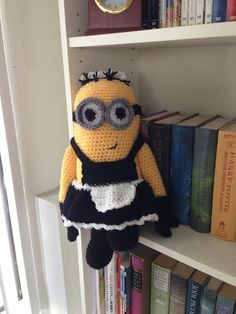 crochet minions :) My two loves in one!