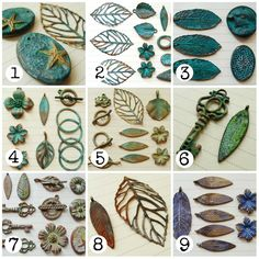 Patinas - Humblebeads Blog: Swellegant Tips and Color Formulas