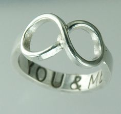 you & me infinity ring.