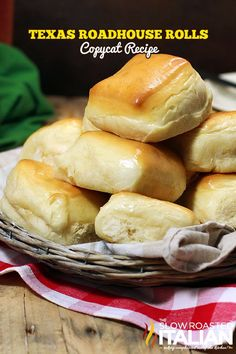 Copycat Texas Roadhouse Rolls http://www.theslowroasteditalian.com/2013/10/copycat-texas-roadhouse-rolls-recipe.html