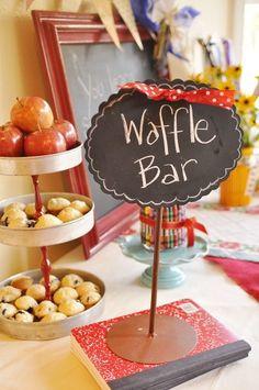 Waffle Bar!,  Go To www.likegossip.com to get more Gossip News!
