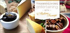 """Entertaining: """"Thanksgiving Cheese Board with Figs"""" -- Click through for the recipe for these """"Drunk Figs"""" (starts with dried figs) and for recommended cheeses to pair with them. wisconsin chees, perfect chees, thanksgiv entertain, thanksgiving, easi entertain, chees select, cheese boards, thanksgiv food"""