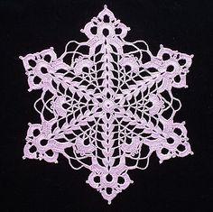 Snowflake, Free pattern glasses, doily patterns, crochet doili, snowflakes, cutglass snowflak, doilies, snowflak doili, doili pattern, crochet snowflak