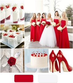 Your Wedding Will Look Beautiful With Apple Red Wedding Theme