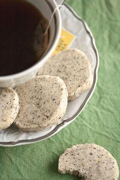 Cookie Week: Earl Grey Icebox Cookies - Crumb: A Food Blog