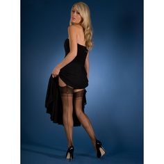 Gio point heel fully fashioned stockings at Stockings HQ: The FF Shop