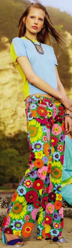 Flares ❤ Hippie Style! ☮~ღ~*~*✿⊱╮ レ o √ 乇 !!
