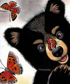 Baby Bear Sees Blue By Ashley Wolff | Children's Books | Books for Kids   This book is amazing! One of our recommended reads! Great stuff!