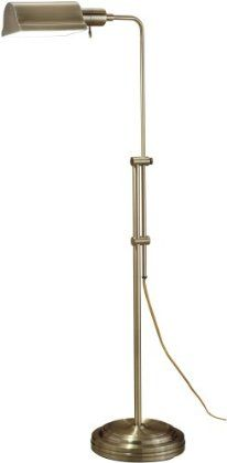Amazon.com: Normande JS3-729 27W PL Floor Lamp, each, Antique Brass Finish