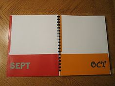 Jill at Hagler Happenings thought of a great idea for storing the year's schoolwork. LOVE this! Super smart!