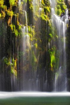Mossbrae Falls Shasta Cascade California Photographer:  Aaron Reed
