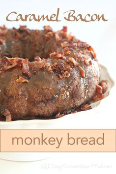 Low Carb Caramel Bacon Monkey Bread Recipe | All Day I Dream About Food