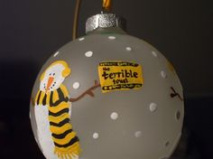 PITTSBURGH STEELERS~~ Steelers style ornament