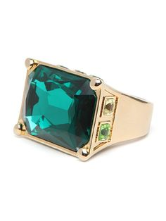 Bold Emerald Ring