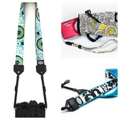 Gorgeous camera straps from Modstrap. Nice gift for a shutterbug.