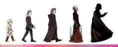 Obi Wan's Theory of Evolution