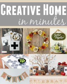 DIY Creative Home in Minutes | DIY Home Decor | Handmade Gift Ideas | Cricut Explore