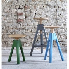 Vitos Screw-stool - Miniforms