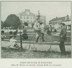 First bicycle in Hanover    Author Gail Carriger: Con Report ~ World Steam Expo