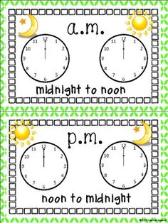 AWESOME telling time activities! $