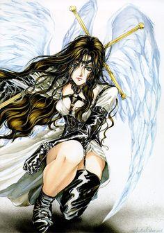 Angel Sanctuary, Kaori Yuki... Un manga humaniste en terres angéliques. Des ombres et des lumières, mais surtout un sentiment, le désir, doté d'ailes puissantes.