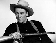 Young John Wayne.