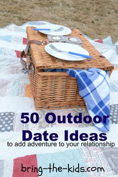 Outdoor Date Ideas! Im always looking for inexpensive & fun things to do! relationship, stuff, 50 outdoor, marriag, night, outdoor dates, fun, thing, outdoor date ideas