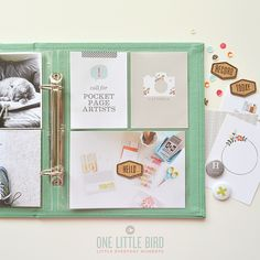 Call For Pocket Page Artists @ One Little Bird Designs | Apply by 8/15/2014