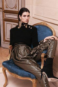 Gothic Couture: Balmain Pre-Fall 2013 via Style.com.